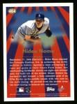 1997 Topps #464  Season Highlights  -  Hideo Nomo Back Thumbnail