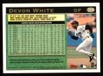 1997 Topps #359   Devon White Back Thumbnail