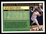 1997 Topps #389  Brooks Kieschnick  Back Thumbnail