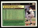 1997 Topps #143   Doug Drabek Back Thumbnail