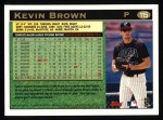 1997 Topps #115  Kevin Brown  Back Thumbnail