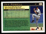 1997 Topps #339   Jay Powell Back Thumbnail