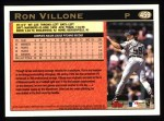 1997 Topps #459   Ron Villone Back Thumbnail
