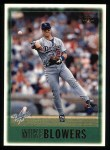 1997 Topps #192  Mike Blowers  Front Thumbnail