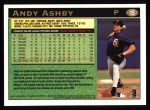 1997 Topps #15   Andy Ashby Back Thumbnail