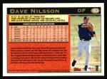 1997 Topps #183   Dave Nilsson Back Thumbnail