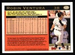 1997 Topps #425  Robin Ventura  Back Thumbnail