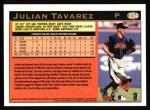 1997 Topps #234   Julian Tavarez Back Thumbnail