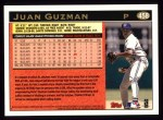 1997 Topps #458   Juan Guzman Back Thumbnail