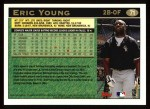 1997 Topps #71   Eric Young Back Thumbnail