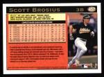 1997 Topps #457  Scott Brosius  Back Thumbnail
