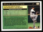1997 Topps #366  Mike Hampton  Back Thumbnail