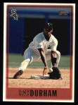1997 Topps #215   Ray Durham Front Thumbnail