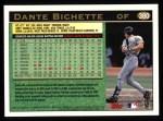 1997 Topps #380  Dante Bichette  Back Thumbnail