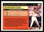 1997 Topps #303  Darren Oliver  Back Thumbnail
