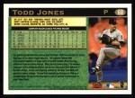 1997 Topps #68  Todd Jones  Back Thumbnail