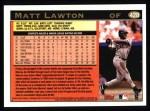 1997 Topps #428  Matt Lawton  Back Thumbnail