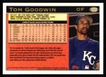 1997 Topps #122  Tom Goodwin  Back Thumbnail