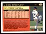 1997 Topps #409   Jose Rosado Back Thumbnail
