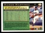 1997 Topps #182   Ramon Martinez Back Thumbnail