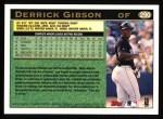 1997 Topps #290  Derrick Gibson  Back Thumbnail