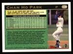 1997 Topps #338   Chan Ho Park Back Thumbnail