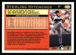 1997 Topps #149   Sterling Hitchcock Back Thumbnail