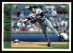 1997 Topps #385  Matt Williams  Front Thumbnail