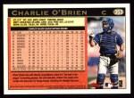 1997 Topps #353   Charlie O'Brien Back Thumbnail