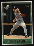 1997 Topps #166  Ismael Valdes  Front Thumbnail