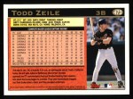 1997 Topps #473  Todd Zeile  Back Thumbnail