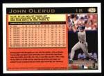 1997 Topps #426  John Olerud  Back Thumbnail