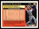 1997 Topps #61 A  Kevin Elster Back Thumbnail