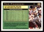 1997 Topps #2   Tom Pagnozzi Back Thumbnail