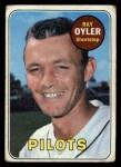 1969 Topps #178   Ray Oyler Front Thumbnail