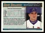 1998 Topps #409  Dave Dellucci  Back Thumbnail