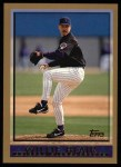 1998 Topps #423   Willie Blair Front Thumbnail