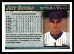 1998 Topps #377  Jeff Suppan  Back Thumbnail