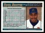1998 Topps #467   Yamil Benitez Back Thumbnail