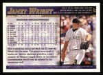 1998 Topps #87   Jamey Wright Back Thumbnail