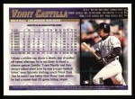 1998 Topps #172   Vinny Castilla Back Thumbnail