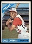 1966 Topps #370  Leo 'Chico' Cardenas  Front Thumbnail