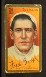 1911 T205 #14  Fred Beck  Front Thumbnail