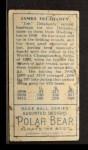 1911 T205 #45   Jim Delahanty Back Thumbnail