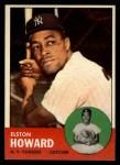 1963 Topps #60   Elston Howard Front Thumbnail
