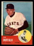 1963 Topps #567 ERR Jim Duffalo  Front Thumbnail