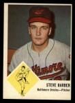 1963 Fleer #1   Steve Barber Front Thumbnail