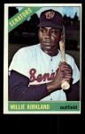 1966 Topps #434   Willie Kirkland Front Thumbnail