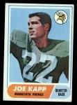 1968 Topps #159   Joe Kapp Front Thumbnail
