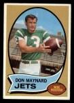 1970 Topps #254   Don Maynard Front Thumbnail